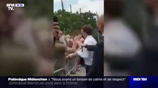 Emmanuel Macron spoliczkowany podczas spotkania z wyborcami