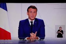 Emmanuel Macron: Szczyt drugiej fali epidemii koronawirusa minął