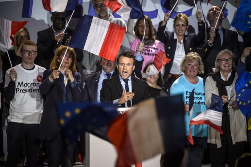 Emmanuel Macron /CHRISTOPHE PETIT TESSON /PAP/EPA