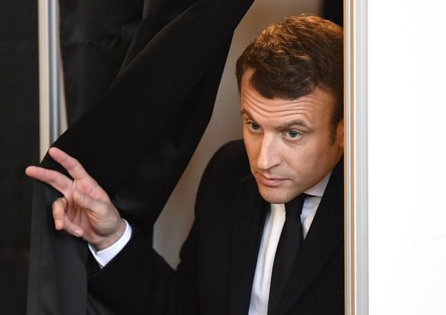 Emmanuel Macron /PAP/EPA/ERIC FEFERBERG / POOL /PAP/EPA