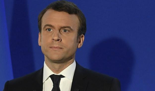 Emmanuel Macron /PAP/EPA/LIONEL BONAVENTURE / POOL /PAP/EPA