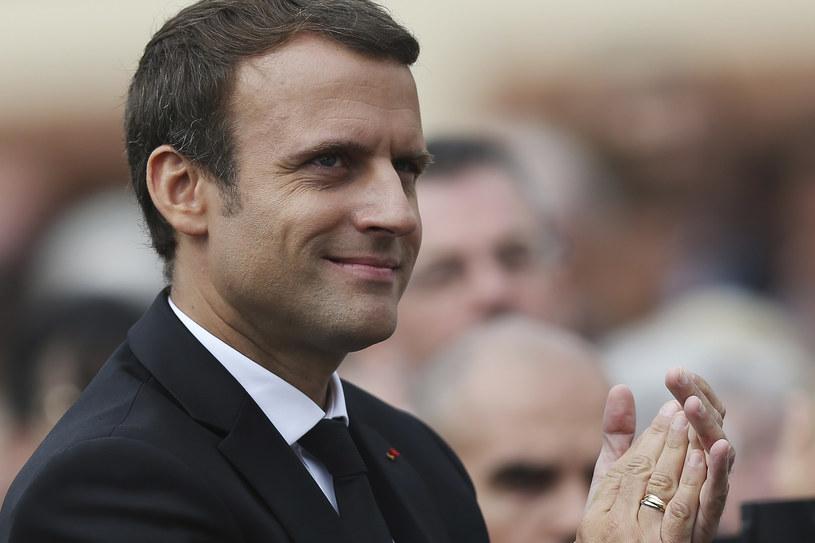 Emmanuel Macron /CHARLY TRIBALLEAU  /AFP