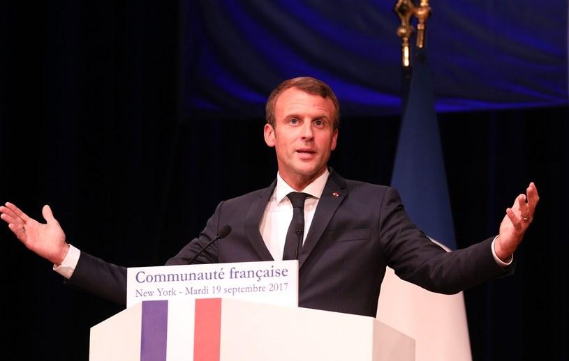 Emmanuel Macron /LUDOVIC MARIN /East News