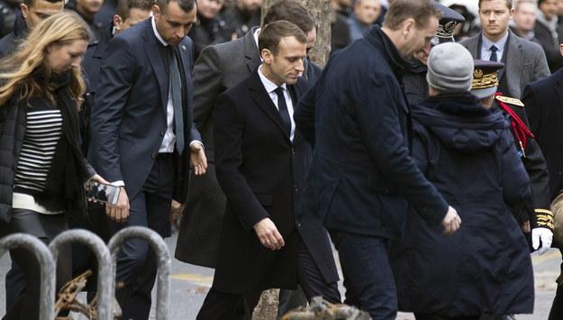 Emmanuel Macron /ETIENNE LAURENT /PAP/EPA
