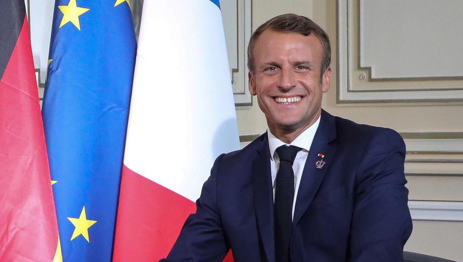Emmanuel Macron /LUDOVIC MARIN /PAP/EPA