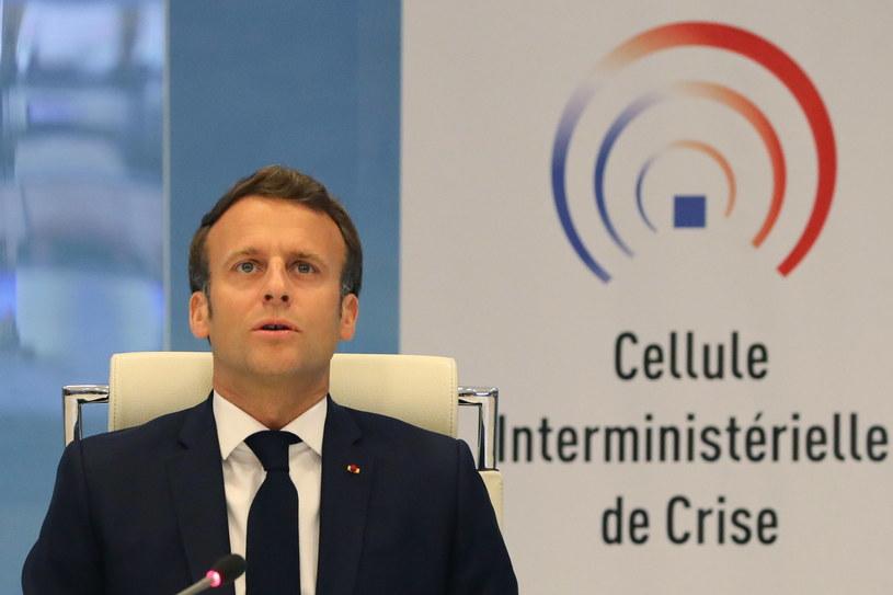 Emmanuel Macron /LUDOVIC MARIN /PAP