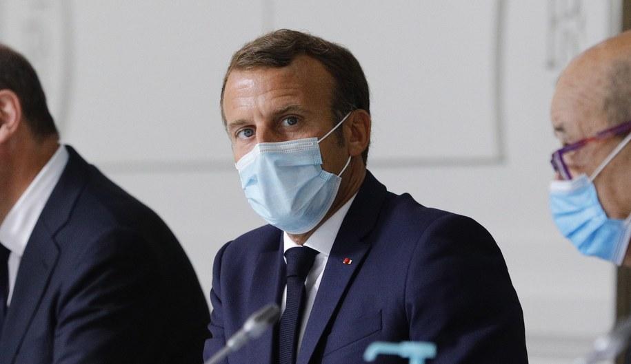 Emmanuel Macron /KAMIL ZIHNIOGLU / POOL / /PAP/EPA