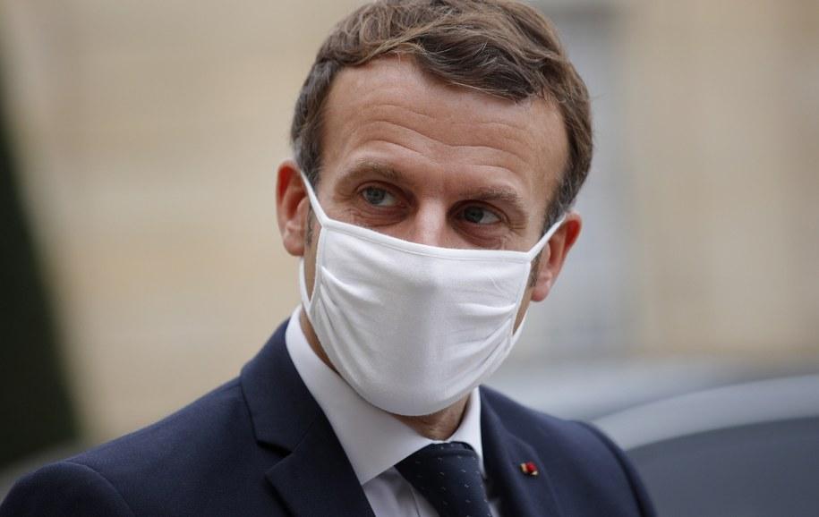 Emmanuel Macron /YOAN VALAT  /PAP