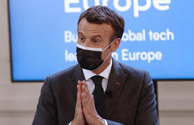 Emmanuel Macron /YOAN VALAT / POOL /PAP/EPA