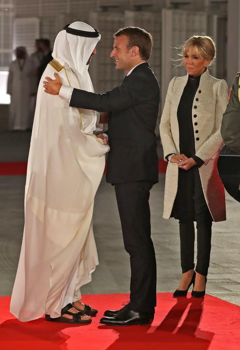 Emmanuele i Brigitte Macron /East News