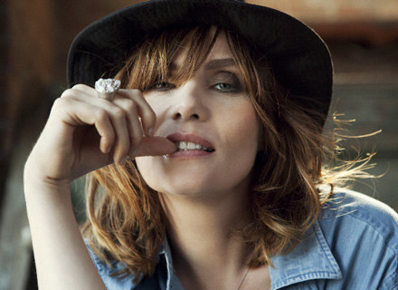 Emmanuelle Seigner - fot. Dusan Reljin /