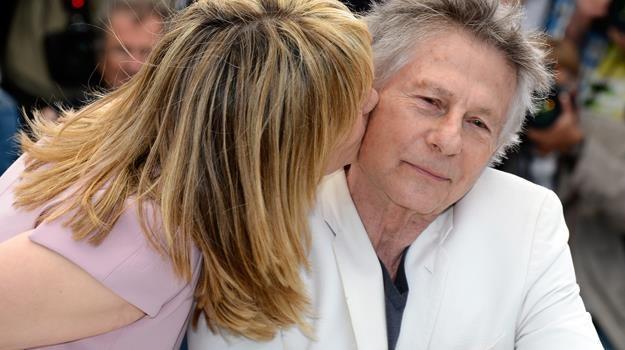 Emmanuelle Seigner i Roman Polański na tegorocznym festiwalu w Cannes / fot. Pascal Le Segretain /Getty Images/Flash Press Media