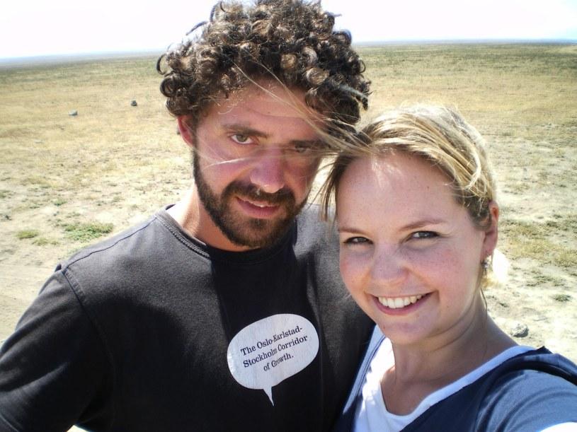 Emmy Abrahamson z mężem, fot. archiwum prywatne /materiały promocyjne