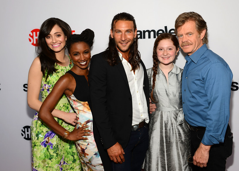 Emmy Rossum, Shanola Hampton, Zach McGowan, Emma Kenney, William H Macy /Mark Davis /Getty Images