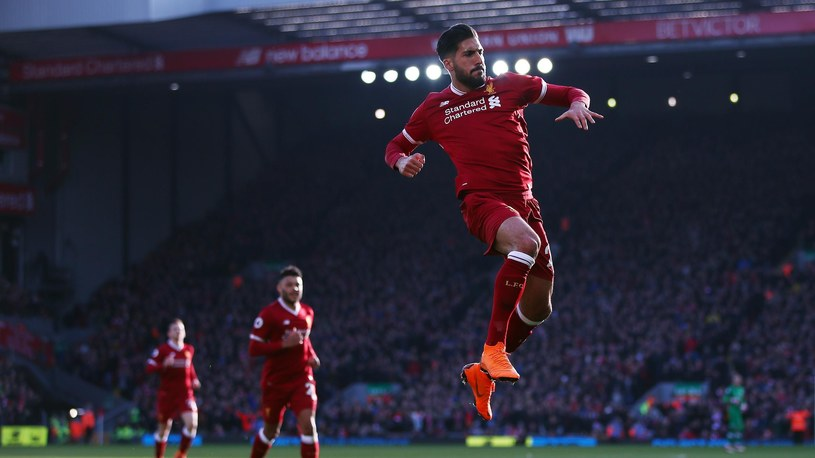 Emre Can w barwach Liverpoolu /Getty Images