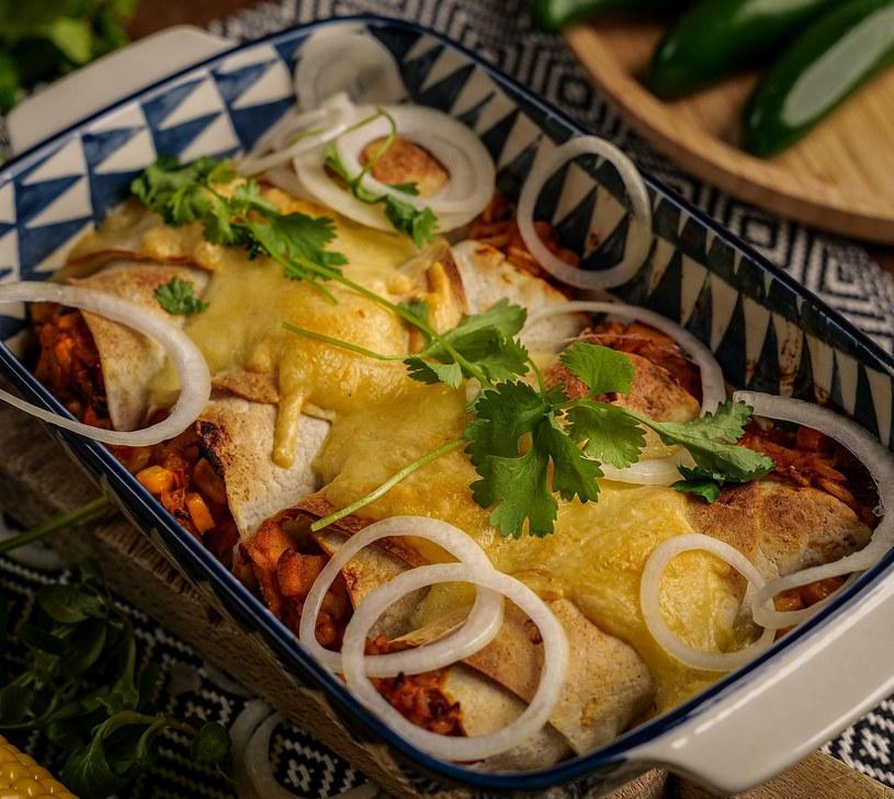 Enchilada z ryżem /materiały prasowe