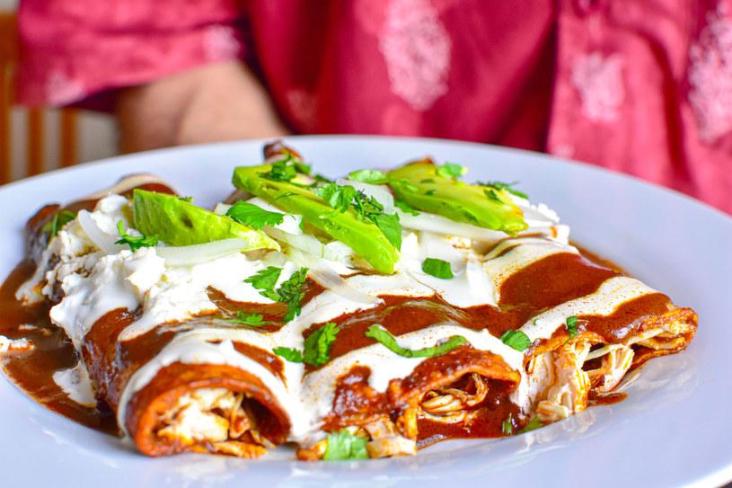 Enchiladas z mięsem /123RF/PICSEL