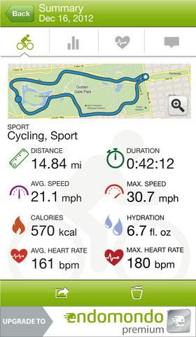 Endomondo Sports Tracker /materiały prasowe