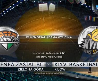 Enea Zastal BC Zielona Góra - Kijów-Basket. 78:95. Skrót meczu (POLSAT SPORT) Wideo