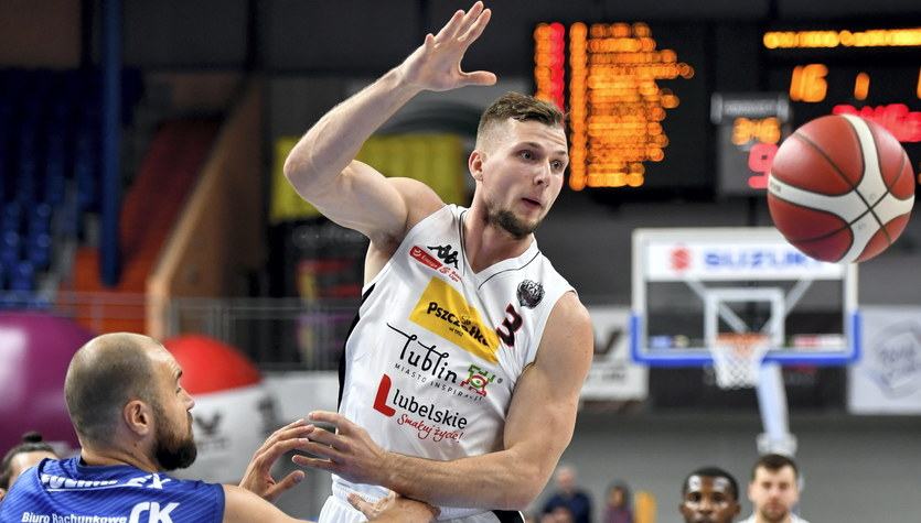 Energa Basket Liga: Pszczółka Start Lublin pokonała ambitną Polpharmę Starogard Gdański