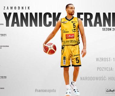 Energa Basket Liga. Trefl Sopot. Yannick Franke nowym zawodnikiem