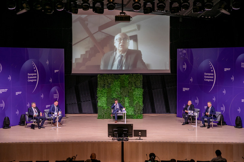 """Energetyka. Pakiet """"Fit for 55"""". Europejski Kongres Gospodarczy w Katowicach /Fot. Ireneusz Rek /INTERIA.PL"""