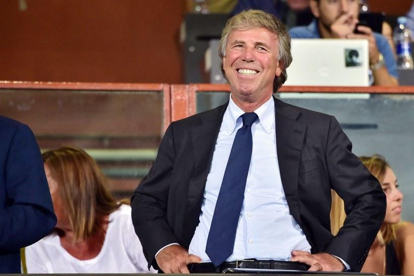 Enrico Preziosi przed meczem z Napoli. /AFP