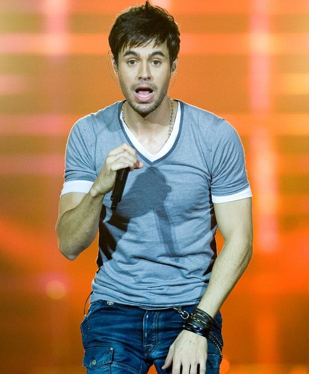 Enrique Iglesias, fot. Samir Hussein   /Getty Images/Flash Press Media
