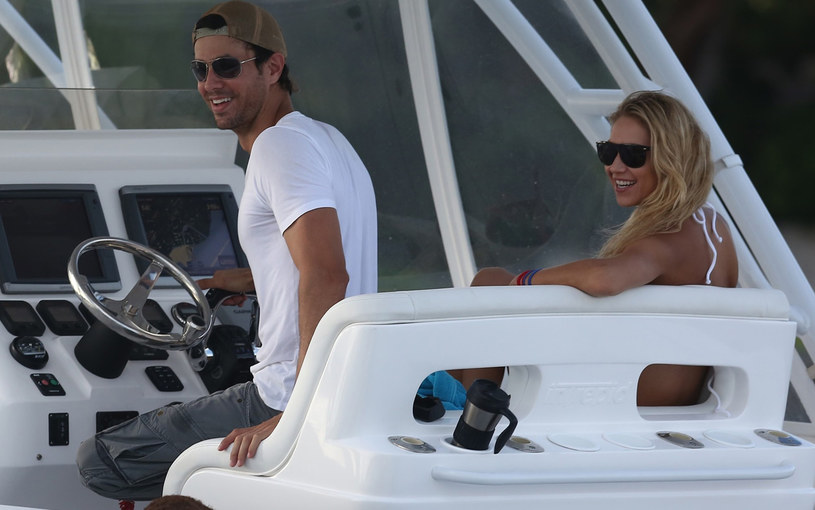 Enrique Iglesias i Anna Kournikova /Splash News /East News