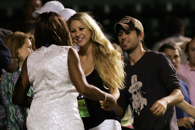 Enrique Iglesias i Anna Kournikova /Michael Heiman /Getty Images