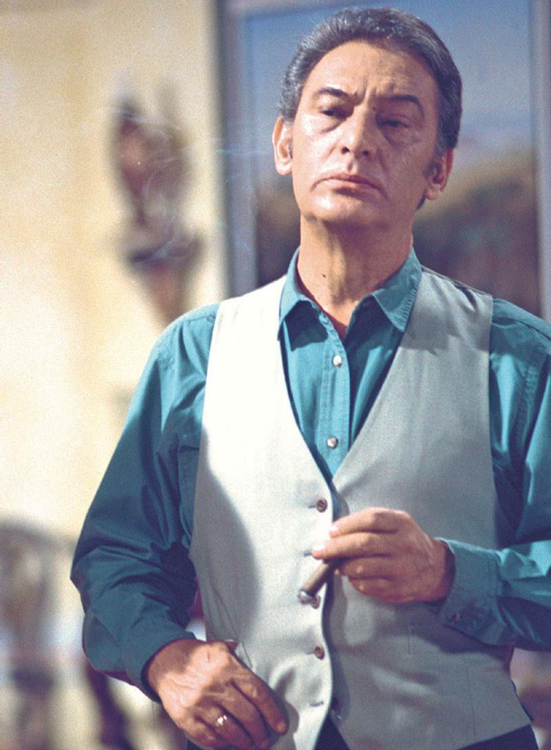 Enrique Lizaldo na ekranie był surowy i zasadniczy. Prywatnie przyjaźnił się z ekipą, a zwłaszcza z Fernandem Colungą /Świat Seriali