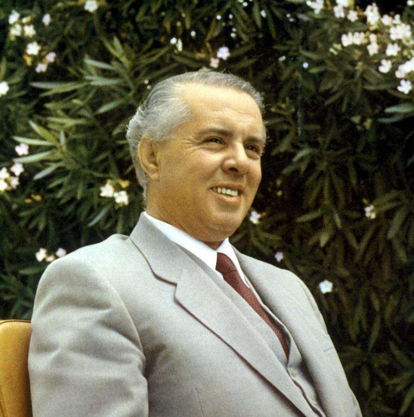 Enver Hoxha rządził Albanią prawie pół wieku /Photoshot/REPORTER /Reporter