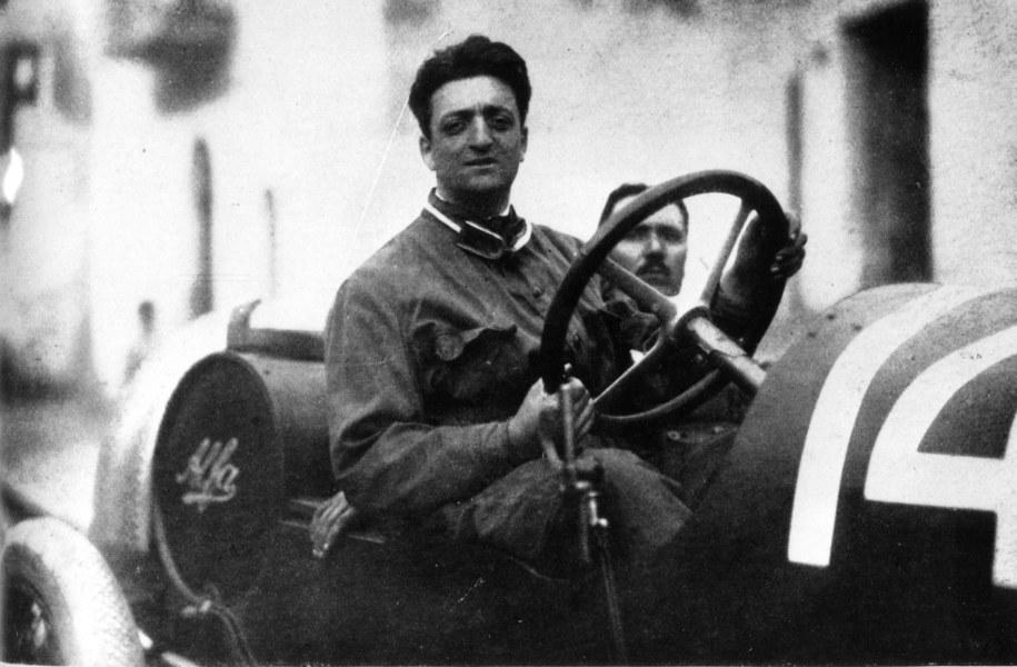 Enzo Ferrari /PAP/PA