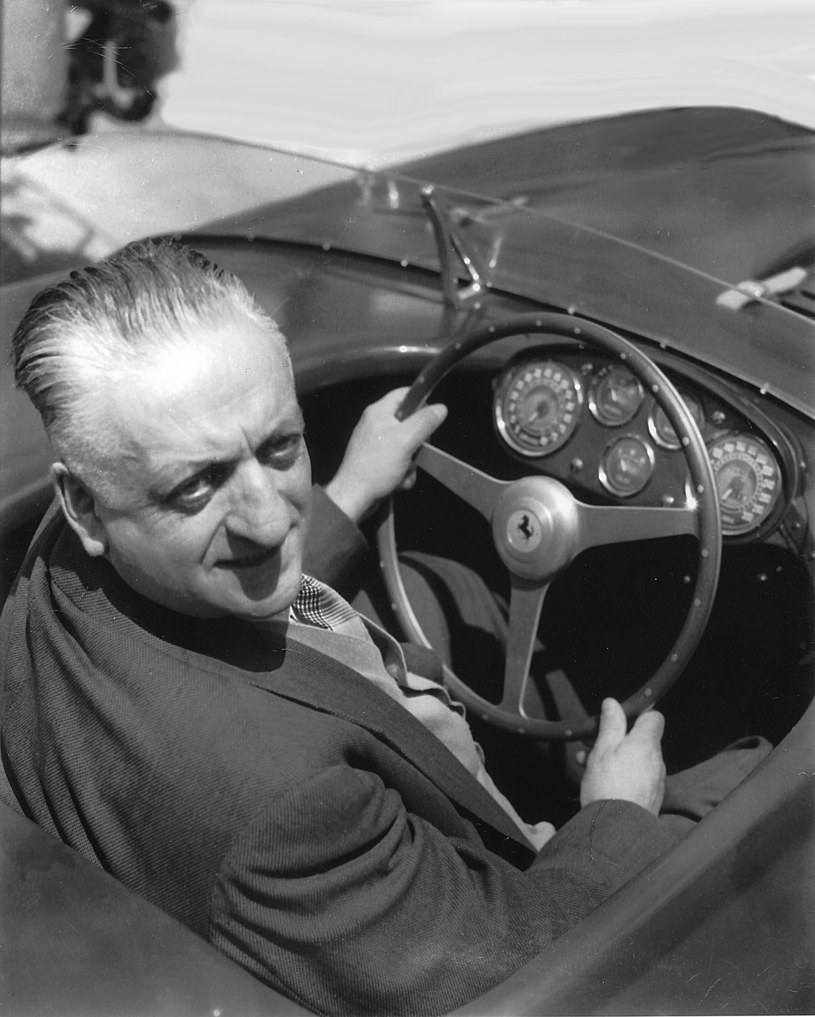 Enzo Ferrari /ISC Images & Archives /Getty Images