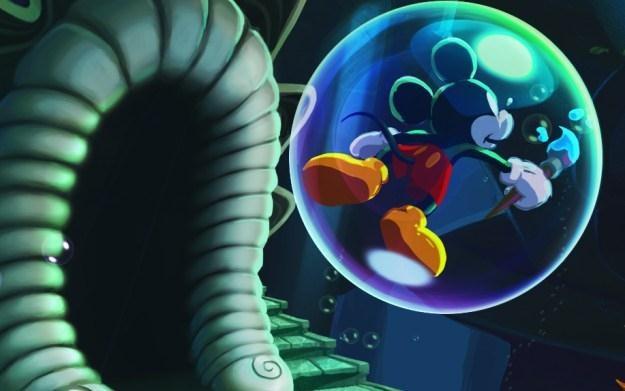 Epic Mickey: Power of Illusion - motyw graficzny /Informacja prasowa