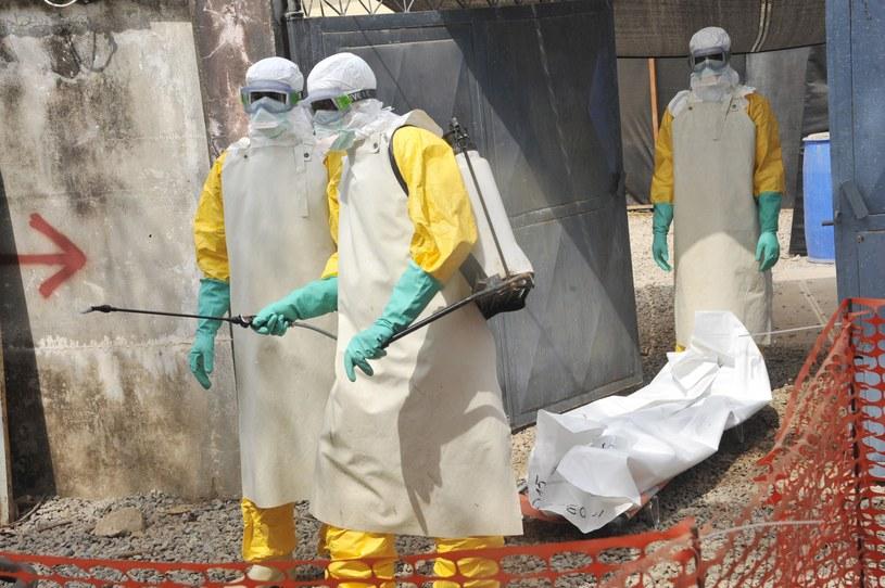 Epidemia eboli pochłonęła ponad 10 tysięcy ofiar /AFP