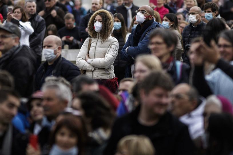 Epidemia koronawirusa wywołuje niepokój /Giuseppe Ciccia/SOPA Images/LightRocket /Getty Images