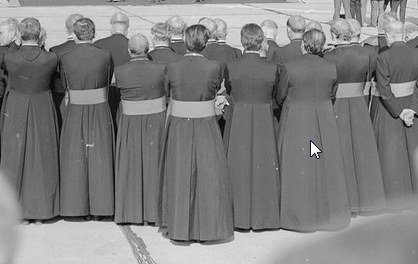 """Episkopatu pisał o """"nowych próbach przekupywania księży"""" /Z archiwum Narodowego Archiwum Cyfrowego"""