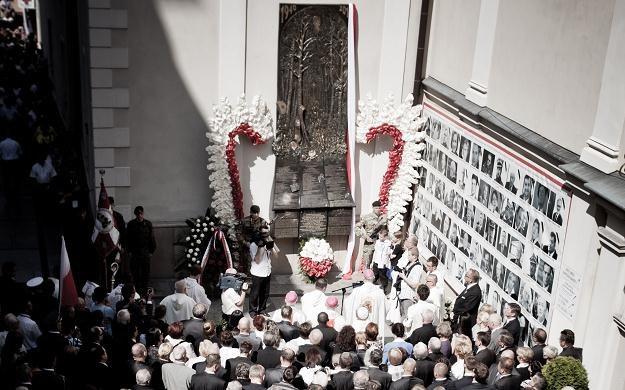 Epitafium Smoleńskie na Jasnej Górze, fot. Wojciech Barczynski /Agencja FORUM