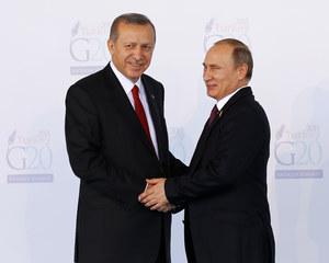 Erdogan: Mój przyjaciel Władimir Putin
