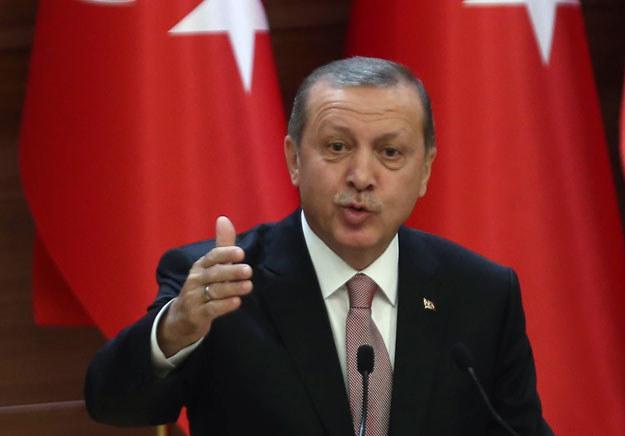 """""""Erdogan nie byłby jednak sobą, gdyby ugiął się przed Europą"""" /AFP"""