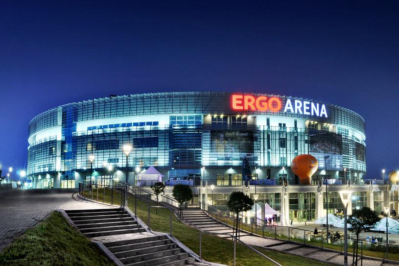 Ergo Arena w Sopocie. /AFP