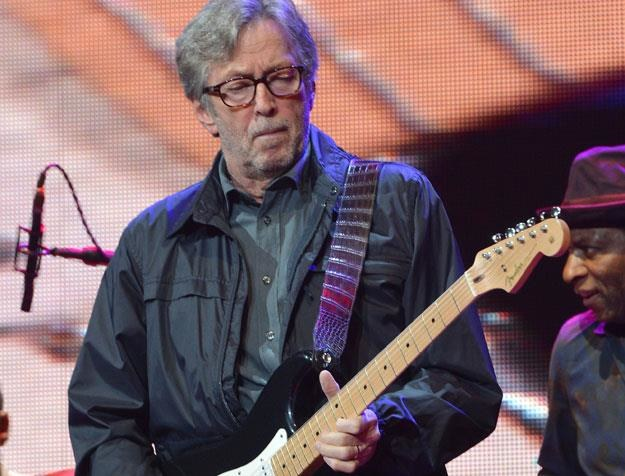 Eric Clapton dziś wystąpi w Łodzi fot. Larry Busacca /Getty Images/Flash Press Media
