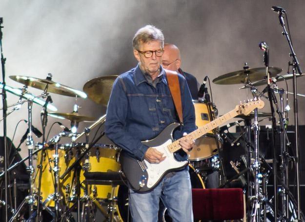 Eric Clapton na koncercie w Oświęcimiu /fot. Bartosz Nowicki