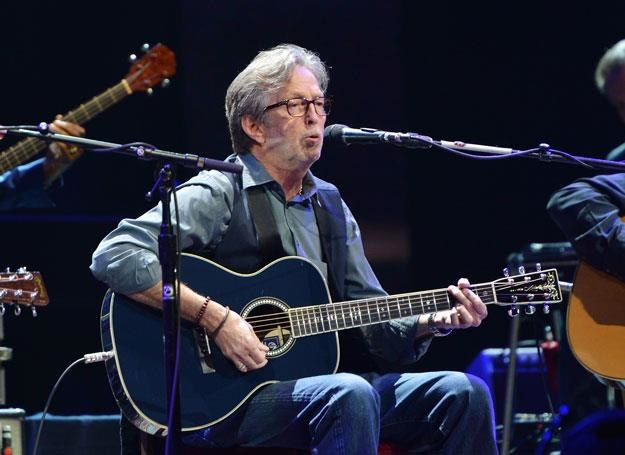 Eric Clapton na scenie - fot. Larry Busacca /Getty Images