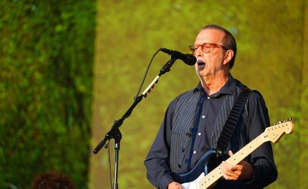 Eric Clapton nie będzie grał koncertów tylko dla zaszczepionych