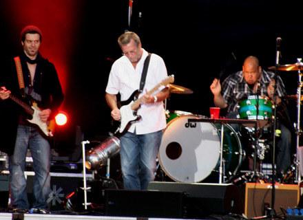 Eric Clapton podczas koncertu w Gdyni /INTERIA.PL