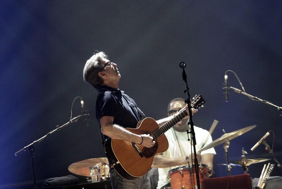 Eric Clapton /VALDA KALNINA /PAP/EPA