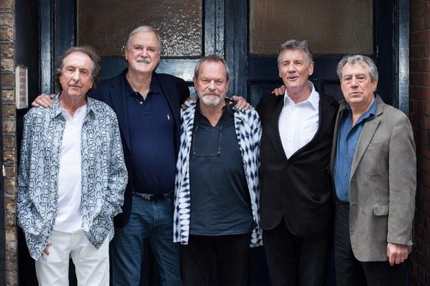 Eric Idle, John Cleese, Terry Gilliam, Michael Palin i Terry Jones /DANIEL LEAL-OLIVAS /PAP/EPA