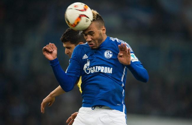 Eric Maxim Choupo-Moting z Schalke 04 /PAP/EPA